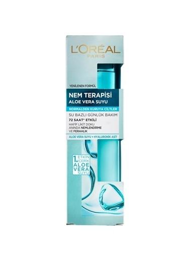 L'Oréal Paris Nem Terapisi Aloe Vera Suyu Normalden Kuruya Ciltler Renksiz